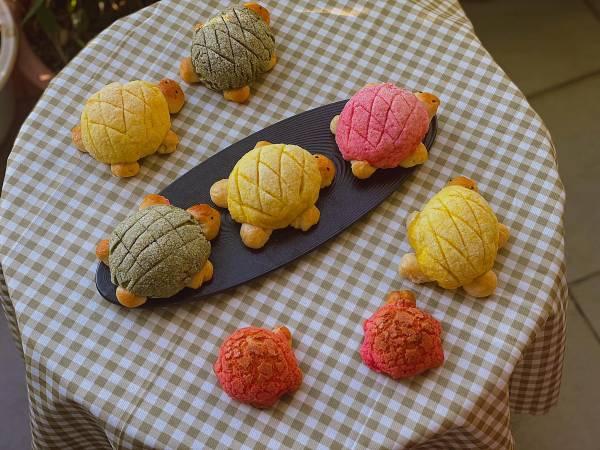 Công thức cách làm bánh Melon pan bread, Melon Pan Nhật Bản thơm ngon 9