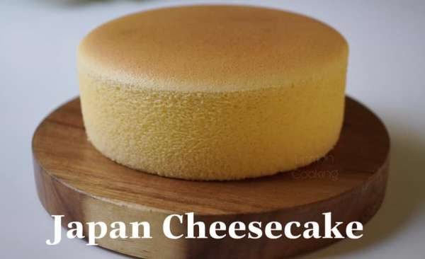 Công thức làm món bánh Japan Cheesecake - Ngon Mềm Mịn 1