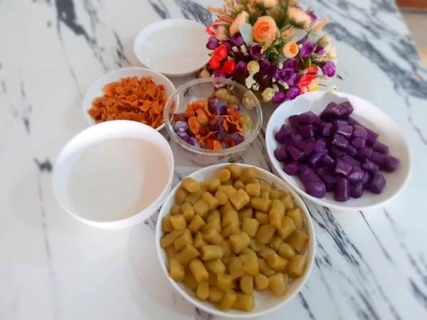 [Công Thức] Cách làm CHÈ KHOAI LANG DẺO THƠM NGON 5