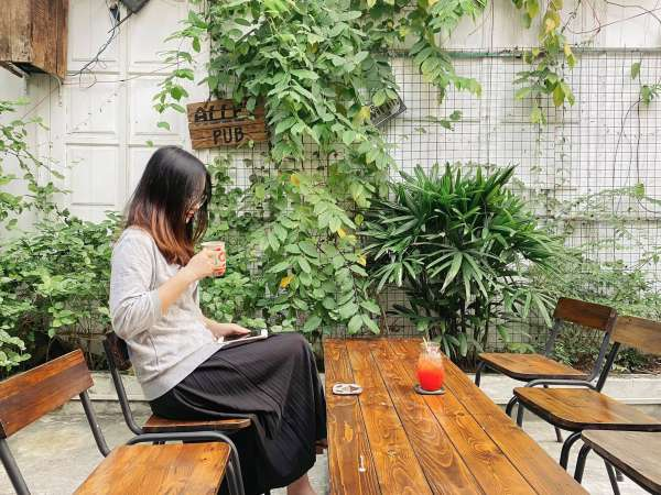 [Review] - Cafe Hidden Alley Hanoi - 9B Ngõ Bảo Khánh 1