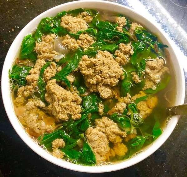 Cách nấu Canh rau đay cua đồng cực ngon tại nhà 2