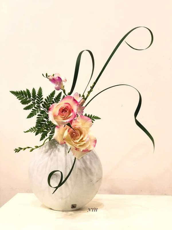 [Chia Sẻ] Phong cách cắm hoa Ikebana 3