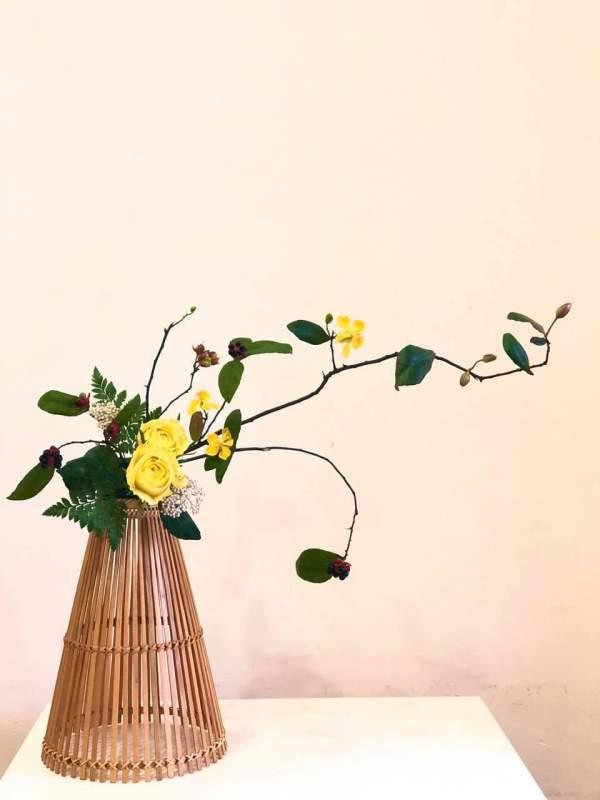 [Chia Sẻ] Phong cách cắm hoa Ikebana 2