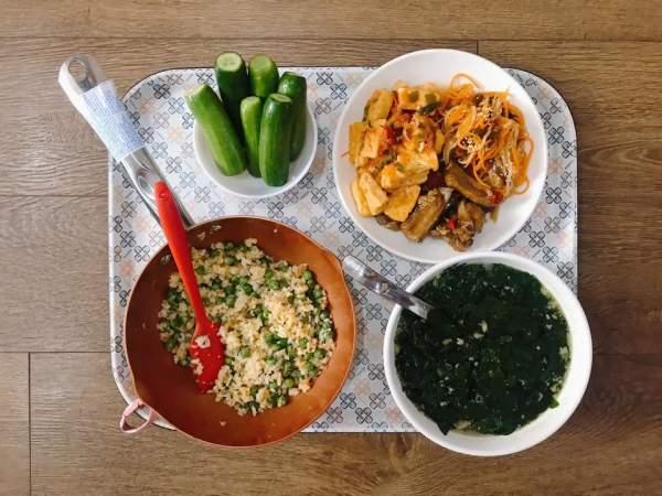 [Khéo tay] Chuẩn bị đồ ăn, bữa cơm cho sinh viên, người đi làm 24