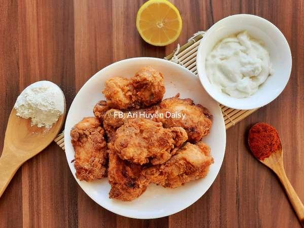 Cách làm món GÀ RÁN ALBAIK, MÓN GÀ NGON NHẤT Ả RẬP, ngon hơn KFC 2