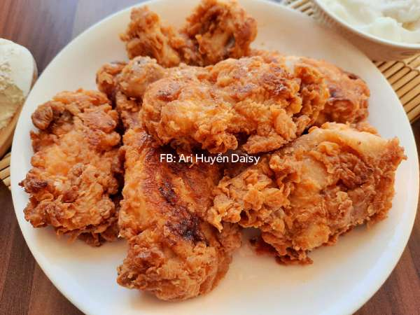 Cách làm món GÀ RÁN ALBAIK, MÓN GÀ NGON NHẤT Ả RẬP, ngon hơn KFC 54