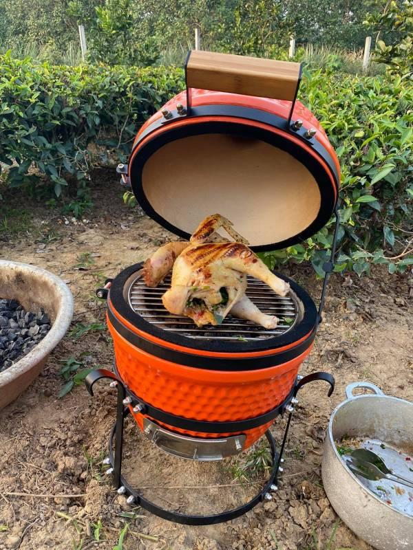 Cách làm món Gà ta nướng mắc khén và lá chè xanh 3
