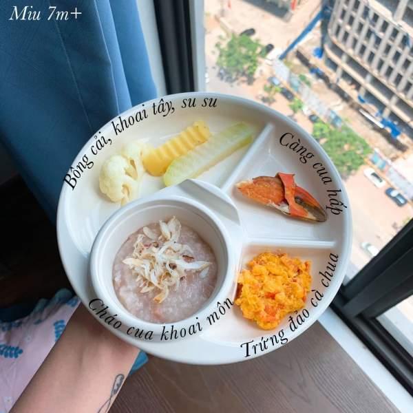 Hành trình ăn dặm bé 6 tháng tuổi - Các món ăn dặm bé ăn ngon 4