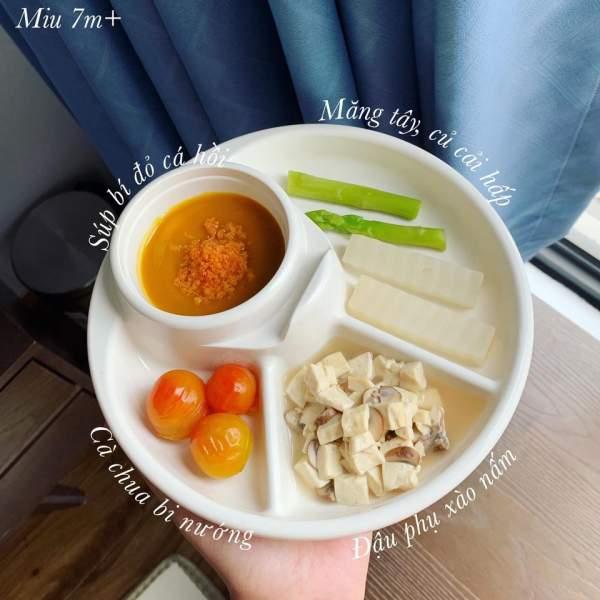 Hành trình ăn dặm bé 6 tháng tuổi - Các món ăn dặm bé ăn ngon 2