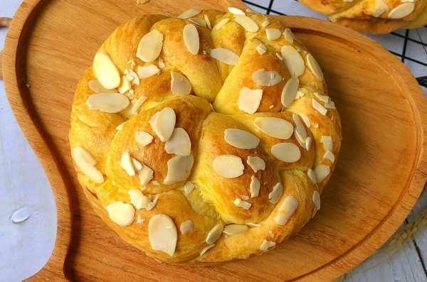 [Công Thức Bánh Mỳ Pháp] Cách làm bánh mì Hoa Cúc Brioche 4