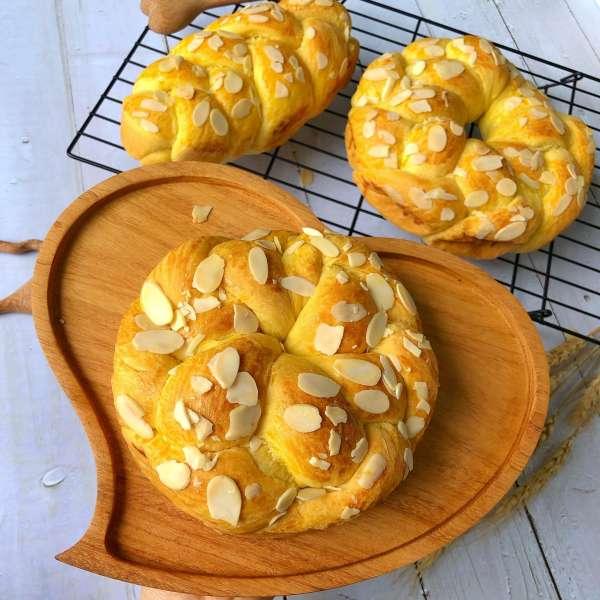 [Công Thức Bánh Mỳ Pháp] Cách làm bánh mì Hoa Cúc Brioche 3