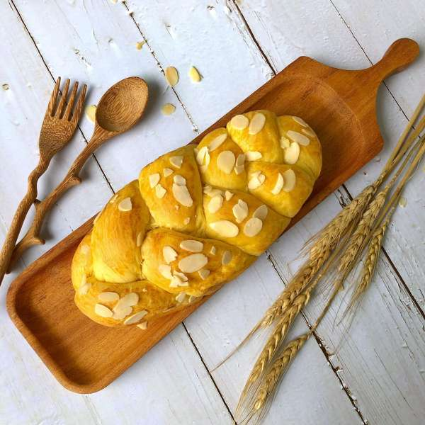 [Công Thức Bánh Mỳ Pháp] Cách làm bánh mì Hoa Cúc Brioche 2