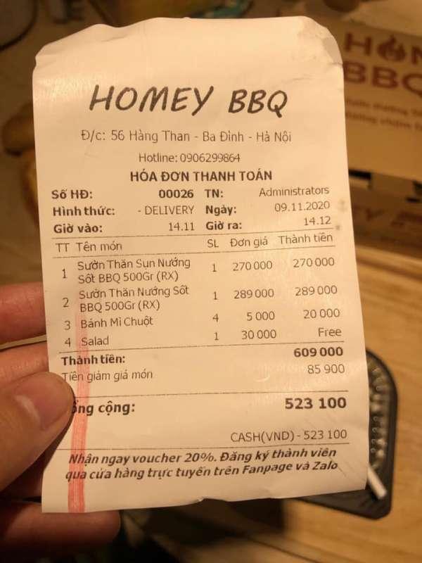 [Review] - Quán nướng BBQ Hà Nội - Homey BBQ - 56 Hàng Than 6