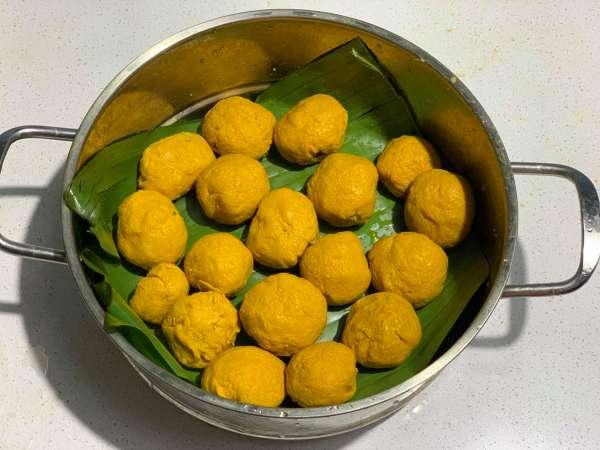 Cách làm Bánh Nghệ, món ngon đặc trưng Thái Bình 21