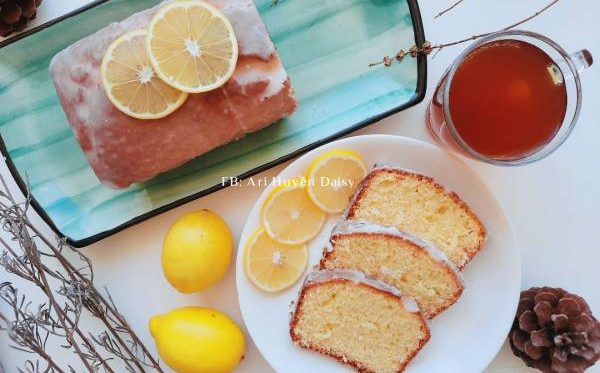 Công thức Cách làm bánh LEMON POUND CAKE - Bánh Bông Lan Super Cute 54