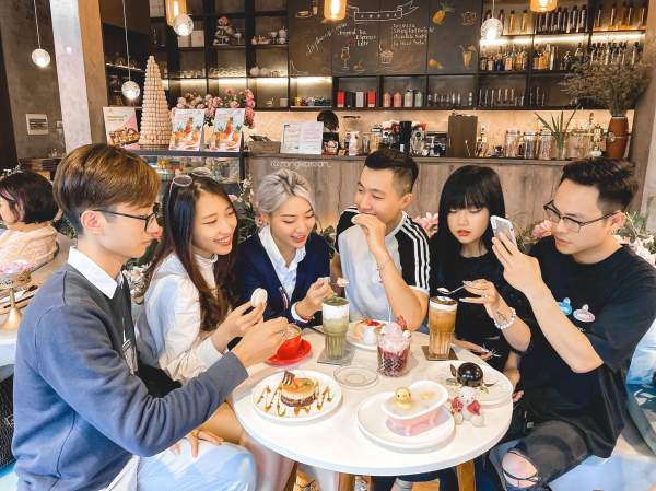 [Review Cafe Bánh Ngọt] - La Fleur D'amour Tea and Dessert Cafe 5