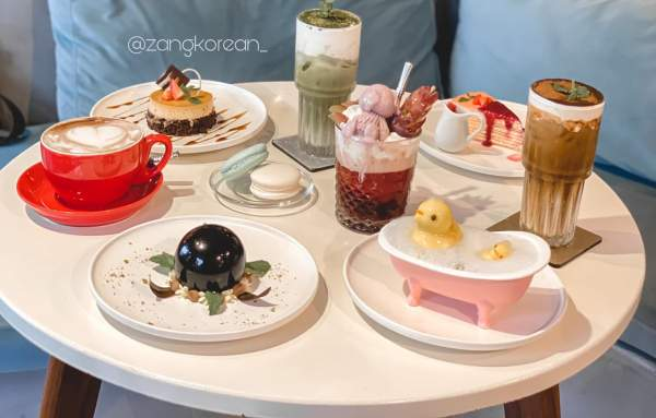 [Review Cafe Bánh Ngọt] - La Fleur D'amour Tea and Dessert Cafe 55