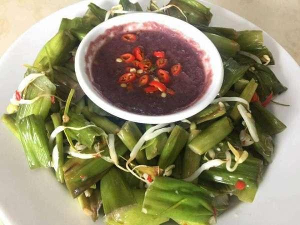 Cách làm món Mùng muối chua - Mùng muối chấm mắm tôm ngon tuyệt 66