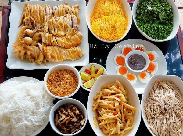Mẹo để có Bát Bún Gà Ngon, Cách nấu Bún Miền Mì Phở Hà ngon 68