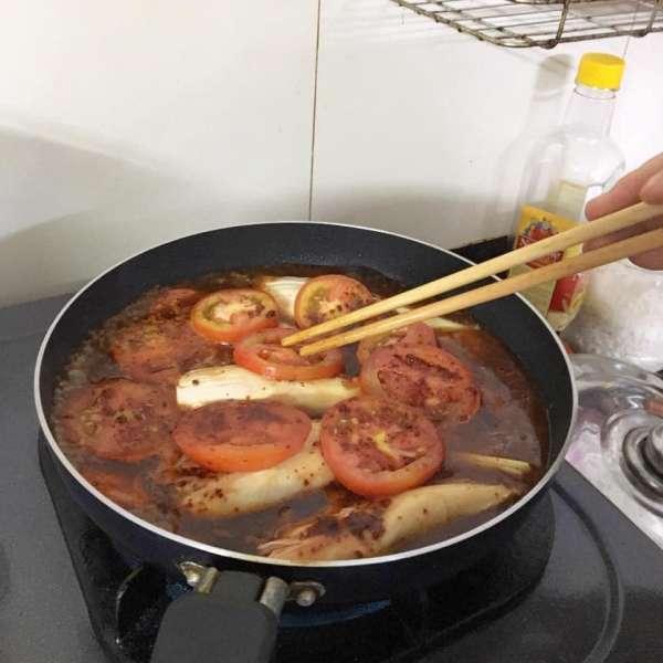 [Công Thức] Nõn chuối kho tiêu và kho cà 3