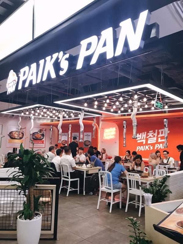 [Review] - Quán đồ ăn Hàn, Mr Paik's, Paik's BBQ, Paik's BIBIM, Paik's noodle 3