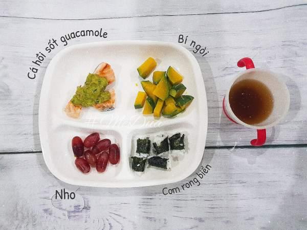 Phương Pháp ăn dặm cho bé 5 tháng (truyền thống kiểu Nhật, BLW) 6