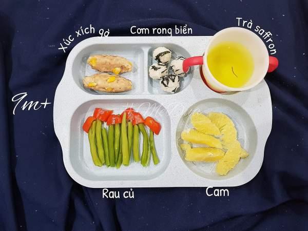Phương Pháp ăn dặm cho bé 5 tháng (truyền thống kiểu Nhật, BLW) 5