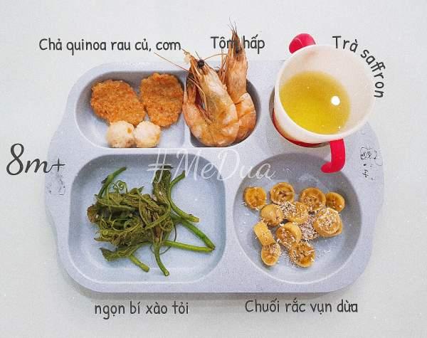 Phương Pháp ăn dặm cho bé 5 tháng (truyền thống kiểu Nhật, BLW) 4