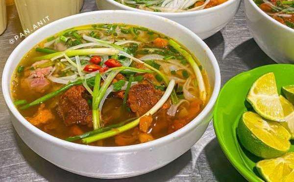 [Review Quán Ăn Đêm - Phở sốt vang - ngách 79 ngõ Thổ Quan, Khâm Thiên 62