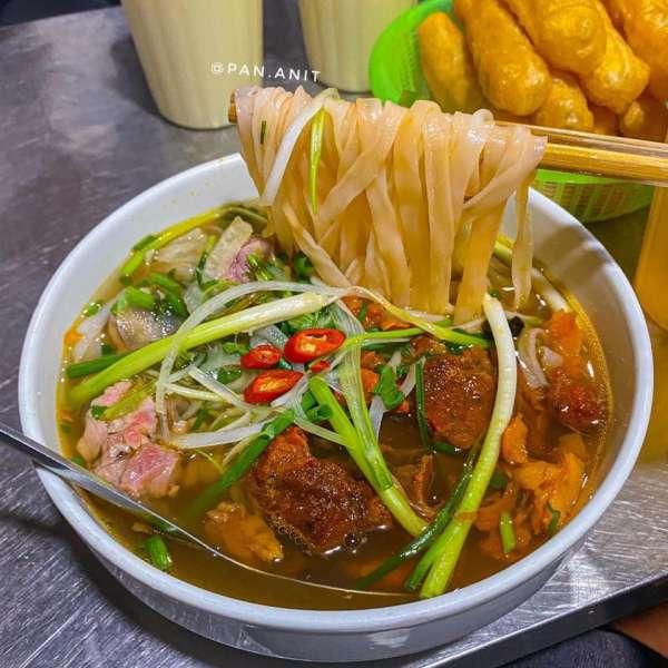 [Review Quán Ăn Đêm - Phở sốt vang - ngách 79 ngõ Thổ Quan, Khâm Thiên 4