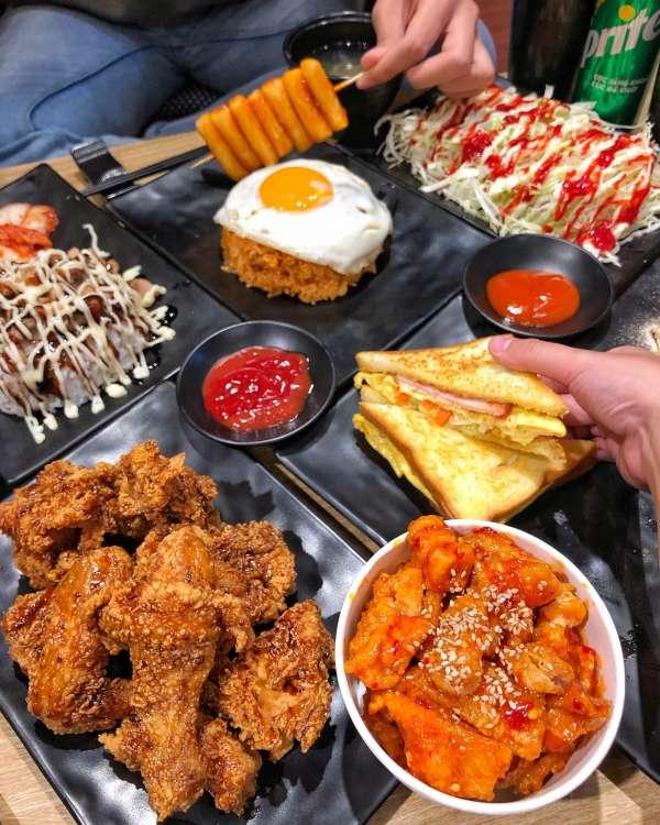 [Review] - Quán ăn đồ Hàn - Siêu rẻ gần trường ĐH Hà Nội 3