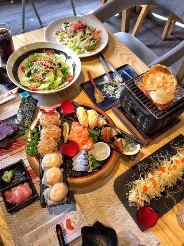 [Review] - HaDu Sushi - Xã Đàn, Quán ăn Sushi ngon ở Hà Nội 3