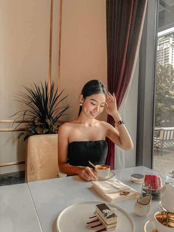 [Review] - Quán Cafe view sang chảnh, Khách sạn dát vàng Dolce by Wyndham Hanoi Golden Lake 3