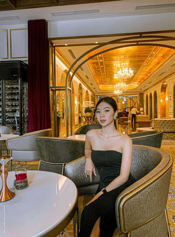 [Review] - Quán Cafe view sang chảnh, Khách sạn dát vàng Dolce by Wyndham Hanoi Golden Lake 2