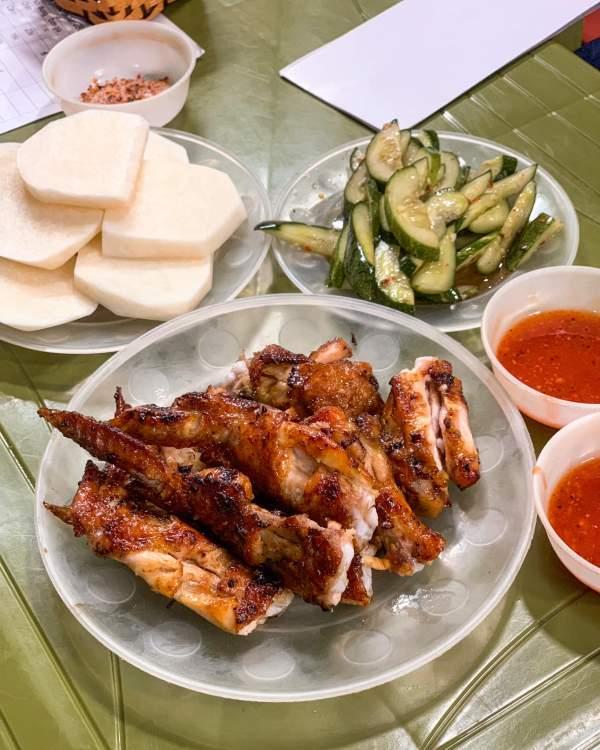 [Review] - Quán Chân Gà Nướng cực ngon tại Hà Nội (Minh Khai) 3
