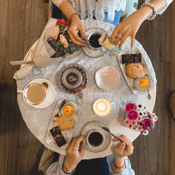 [Review] - Random Tea Room - Phòng trà bánh kiểu Âu 2