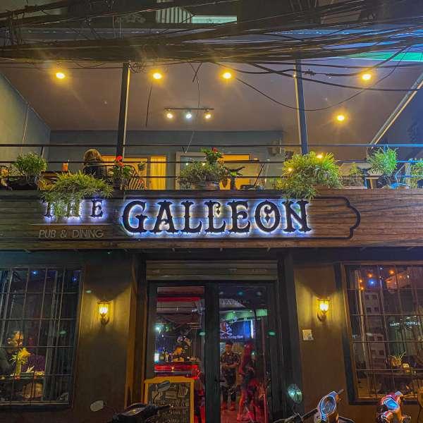 [Review] - Địa điểm hẹn hò đẹp - The Galleon Dining Lounge - Ngõ 36 Giang Văn Minh 2