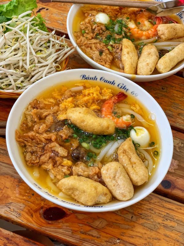 [Review] - BÁNH CANH GHẸ 69 - Ô Chợ Dừa 2