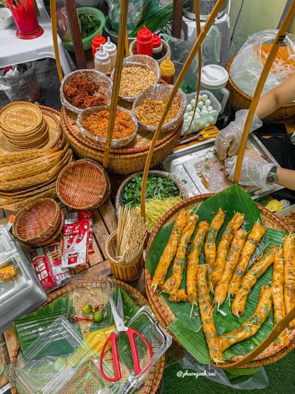 [Review] - Bánh tráng bé My - 33 Quang Trung,Hoàn Kiếm 3