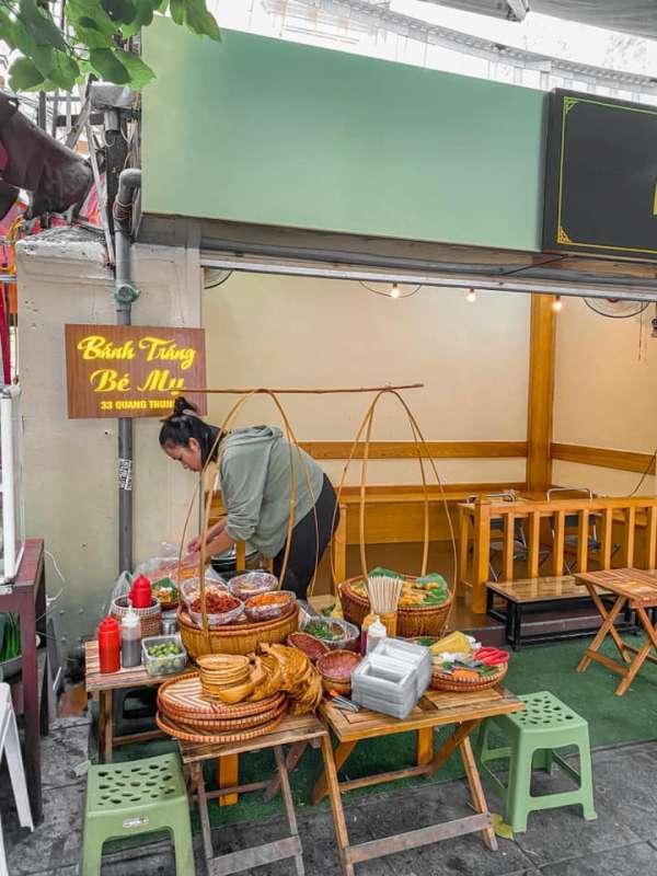 [Review] - Bánh tráng bé My - 33 Quang Trung,Hoàn Kiếm 2