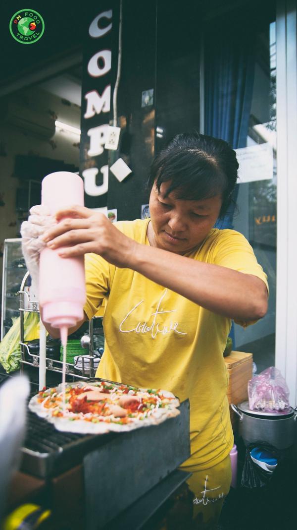 [Review] - Bánh tráng nướng của anh Sơn và chị Thúy, 196 Vạn Kiếp, P. 3, Q. Bình Thạnh 4