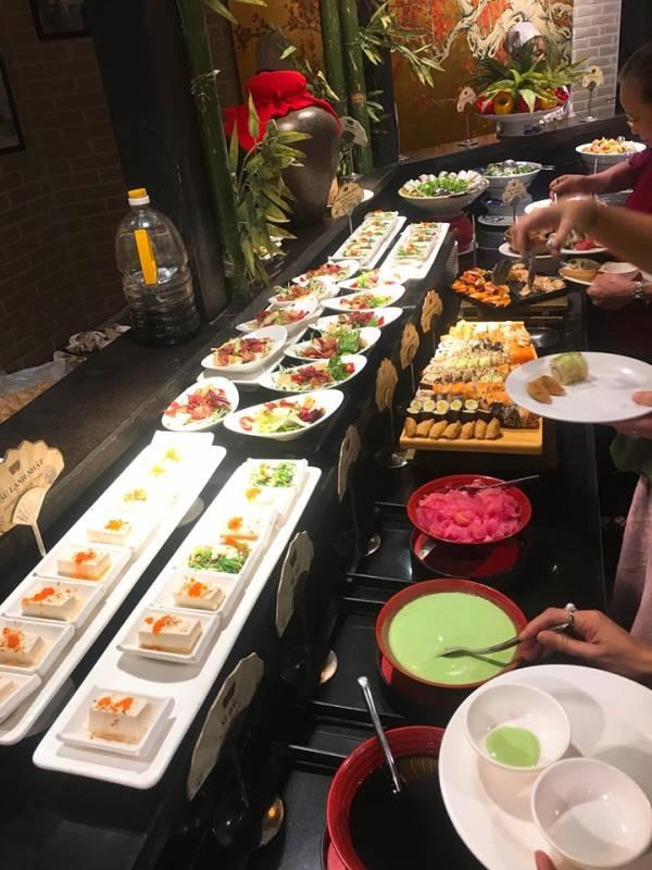 [Review] - Buffet Sen Hồ Tây, Ăn Buffet Hà Nội 10