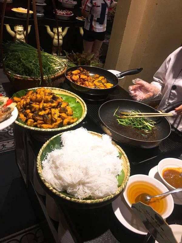 [Review] - Buffet Sen Hồ Tây, Ăn Buffet Hà Nội 8