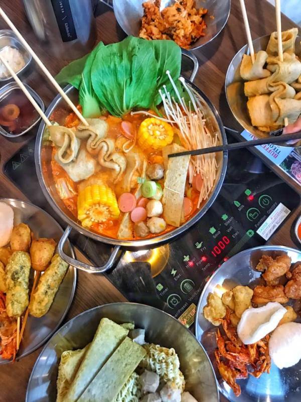 [Review] - Buffet lẩu tok - Manyo, Tầng 5 - Centerpoint Lê Văn Lương 3