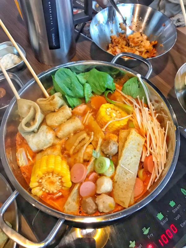 [Review] - Buffet lẩu tok - Manyo, Tầng 5 - Centerpoint Lê Văn Lương 2