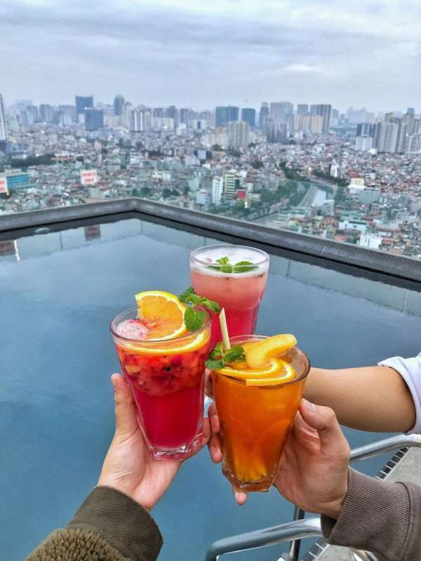 [Review] - CAFE ROOFTOP Cầu Giấy - 110 Centerpoint Rooftop Cafe 5