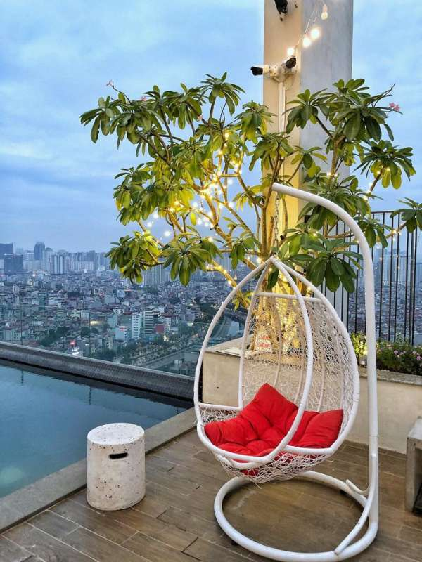 [Review] - CAFE ROOFTOP Cầu Giấy - 110 Centerpoint Rooftop Cafe 2