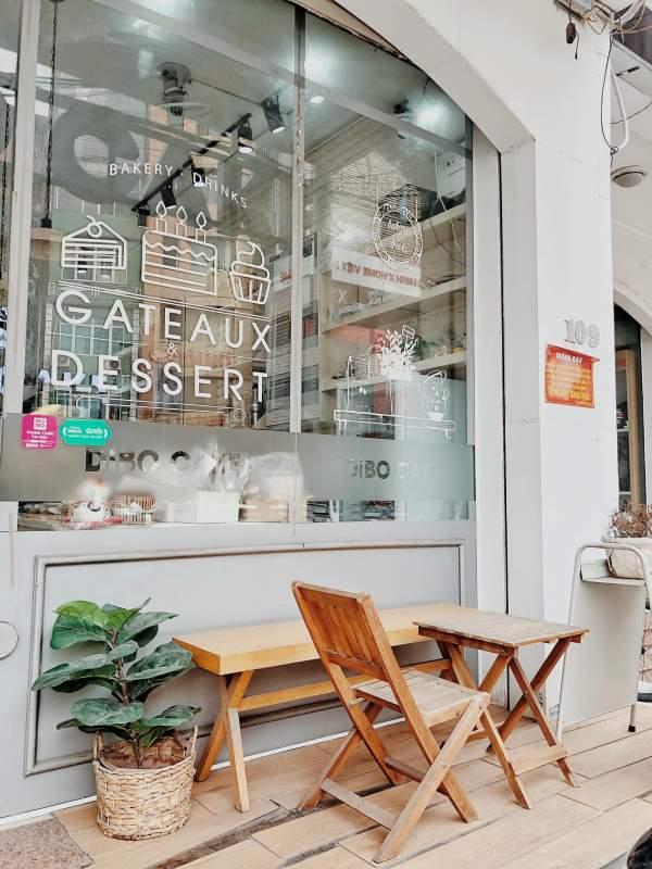 [Review] - Cafe Trà Bánh Dibo Cake - 109 Đường Láng 6