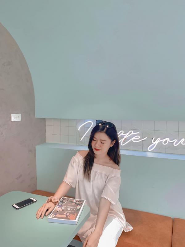 [Review Da Latte Cafe] - QUÁN CF SIÊU XANH- SIÊU XINH VINCOM BÀ TRIỆU 2