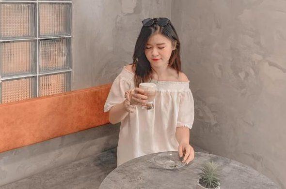[Review Da Latte Cafe] - QUÁN CF SIÊU XANH- SIÊU XINH VINCOM BÀ TRIỆU 68